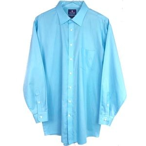 🎉Stafford Long Sleeve Dress Shirt Regular Fit XL